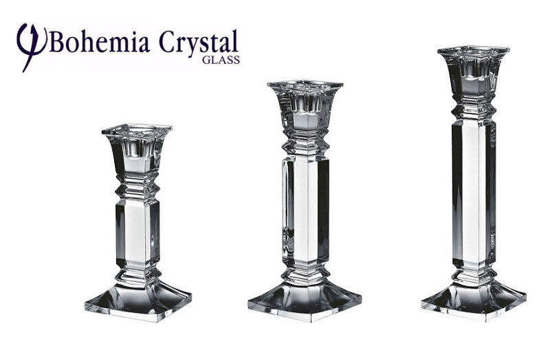 BOHEMIA CRYSTAL GLASS Candelero Velas & palmatorias Objetos decorativos  |