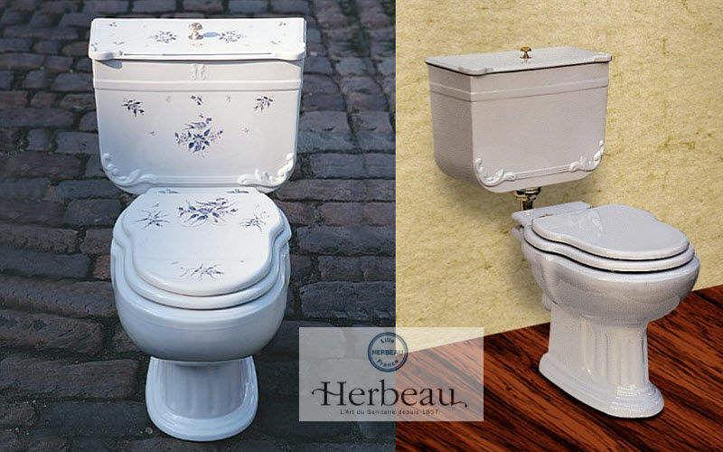 Herbeau WC en el suelo Inodoros & sanitarios Baño Sanitarios  | Rústico