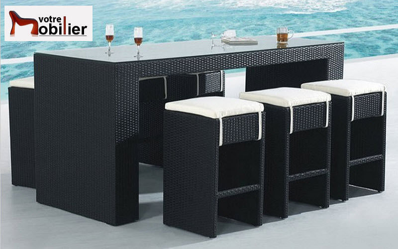 barra de bar para jard n varios mobiliario de jard n decofinder. Black Bedroom Furniture Sets. Home Design Ideas
