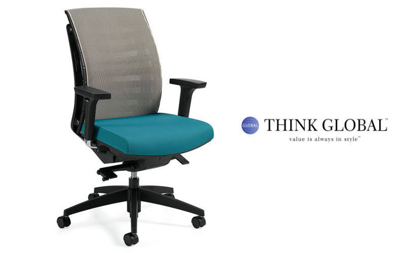 GLOBAL TOTAL OFFICE Sillón de escritorio Sillas de oficina Despacho  |