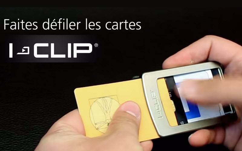 I-CLIP Portatarjetas de crédito Bolsos y Complementos Mas allá de la decoración  |