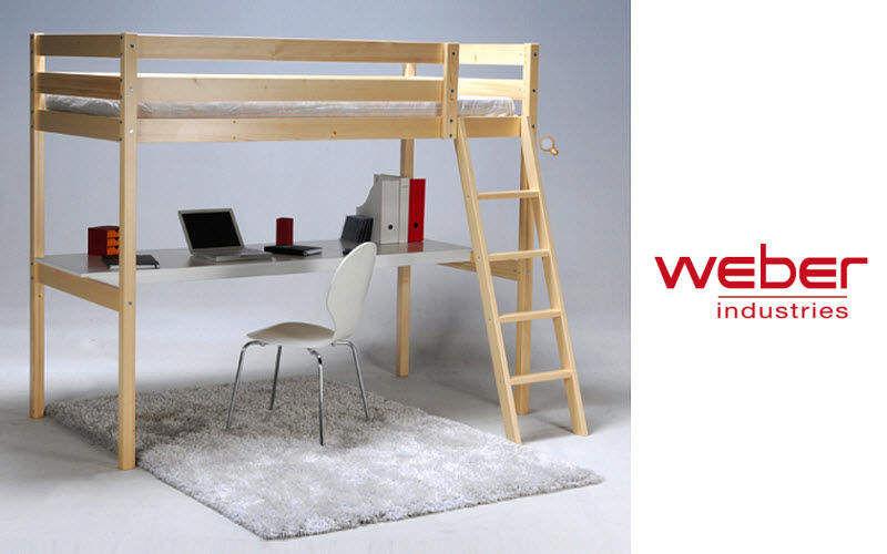 Weber Industries Cama alta Camas plegables Camas  |