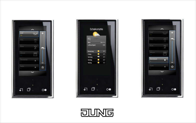 JUNG Central domótica Control remoto Automatización doméstica  |
