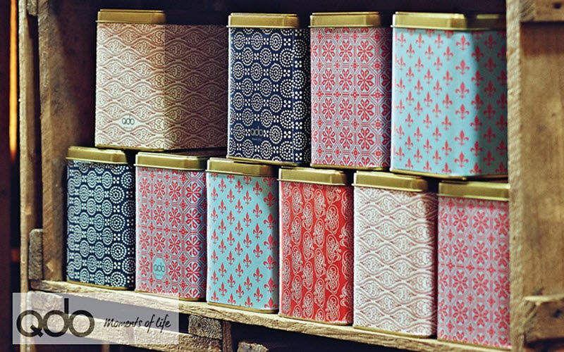 QDO Cajas de galletas Recipientes y contenedores de conservas (tarros-botes-frascos) Cocina Accesorios   