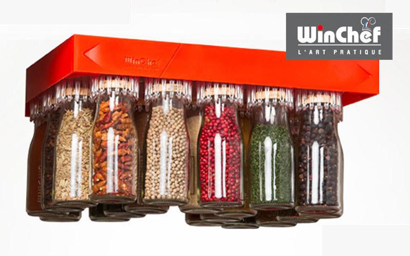 WINCHEF Especiero circular Artículos para cortar y pelar Cocina Accesorios  |