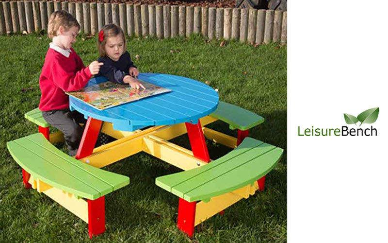 LEISUREBENCH Mesa de picnic Mesas de jardín Jardín Mobiliario   