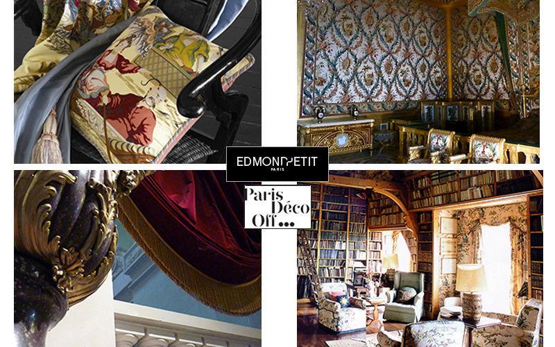 Edmond Petit Tela para tapicerías Telas decorativas Tejidos Cortinas Pasamanería  |
