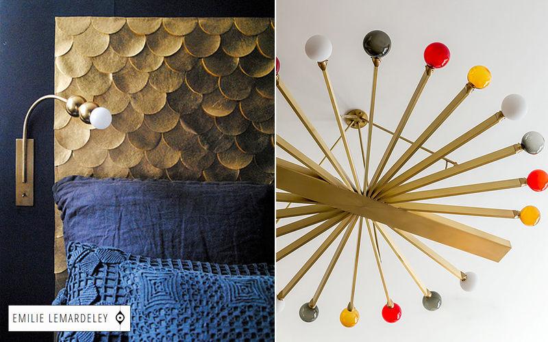EMILIE LEMARDELEY lámpara de pared Lámparas y focos de interior Iluminación Interior  |