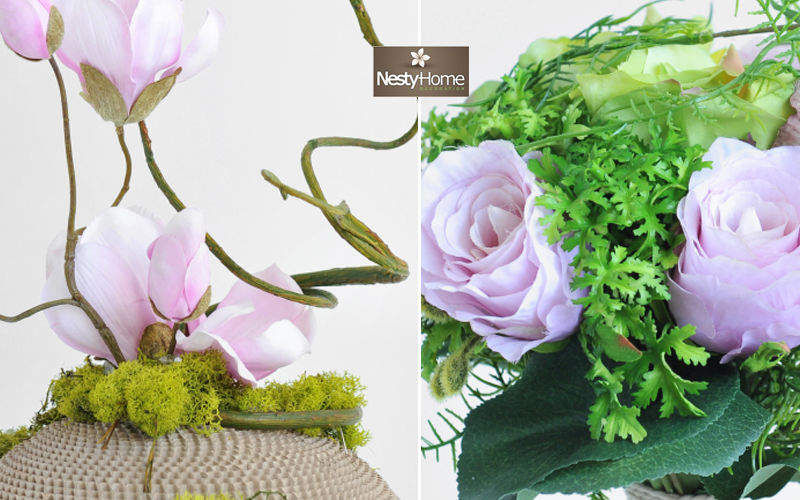NestyHome Flor artificial Composiciones florales Flores y Fragancias   