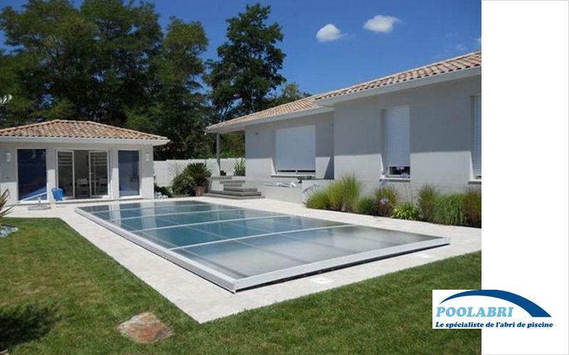 Abri piscine POOLABRI Cubierta de piscina extra plana Cabinas de piscina Piscina y Spa  |