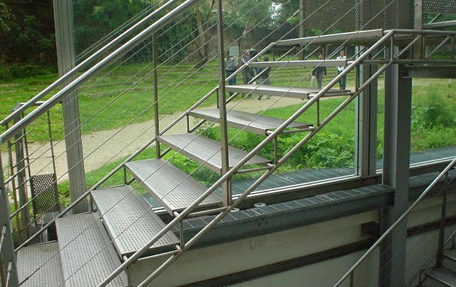 Er2m Escalera de exterior Escaleras/escalas Equipo para la casa  |