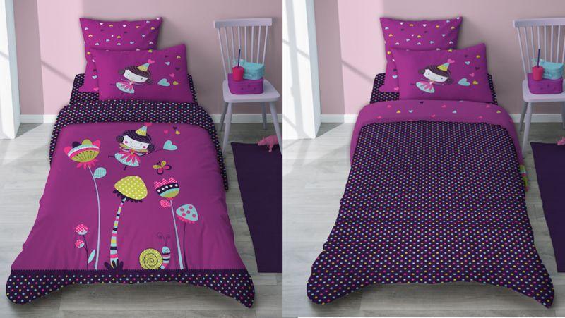SELENE ET GAIA Juego de cama niño Ropa de cama para niño El mundo del niño   