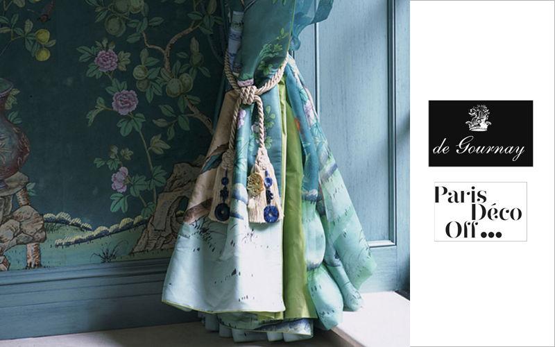 de Gournay Tela para tapicerías Telas decorativas Tejidos Cortinas Pasamanería  |