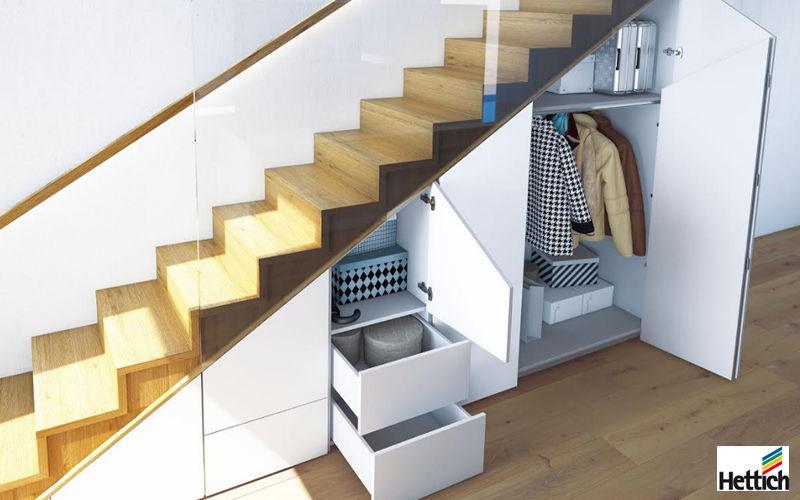 Hettich Almacenamiento debajo de las escaleras Escaleras/escalas Equipo para la casa   