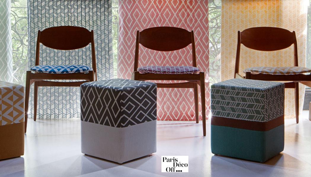 Gancedo Tejido de decoración para asientos Telas decorativas Tejidos Cortinas Pasamanería Comedor | Design Contemporáneo