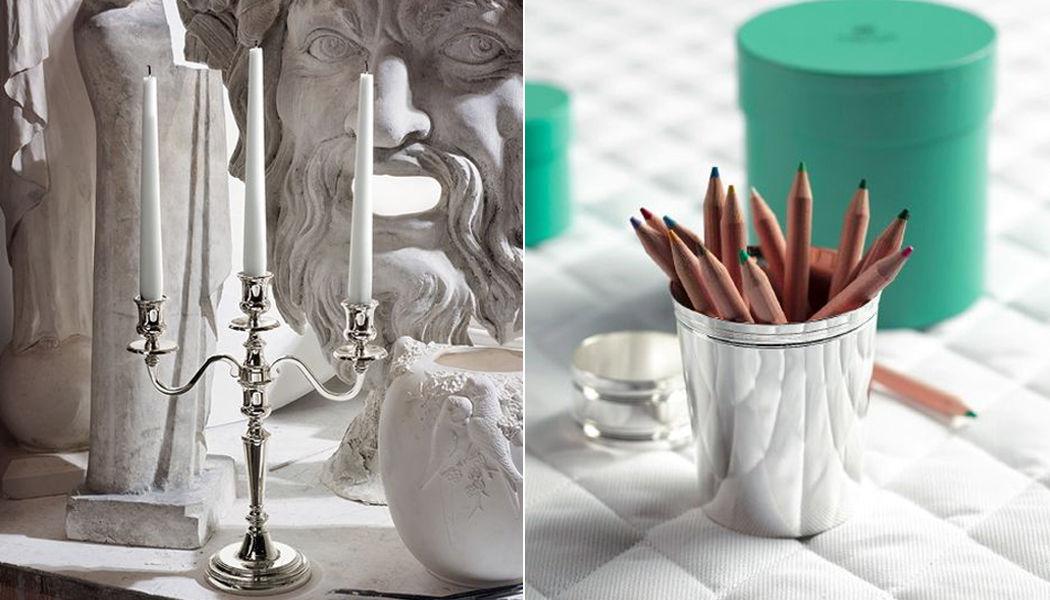 ERCUIS Candelabro Velas & palmatorias Objetos decorativos Comedor | Clásico