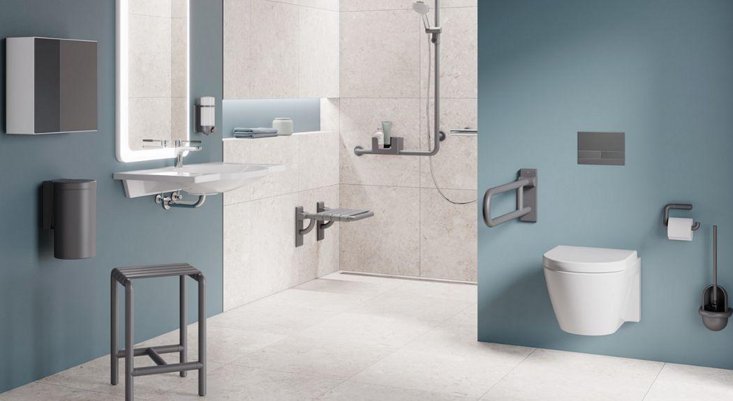 HEWI Cuarto de baño Baño completo Baño Sanitarios Baño | Design Contemporáneo