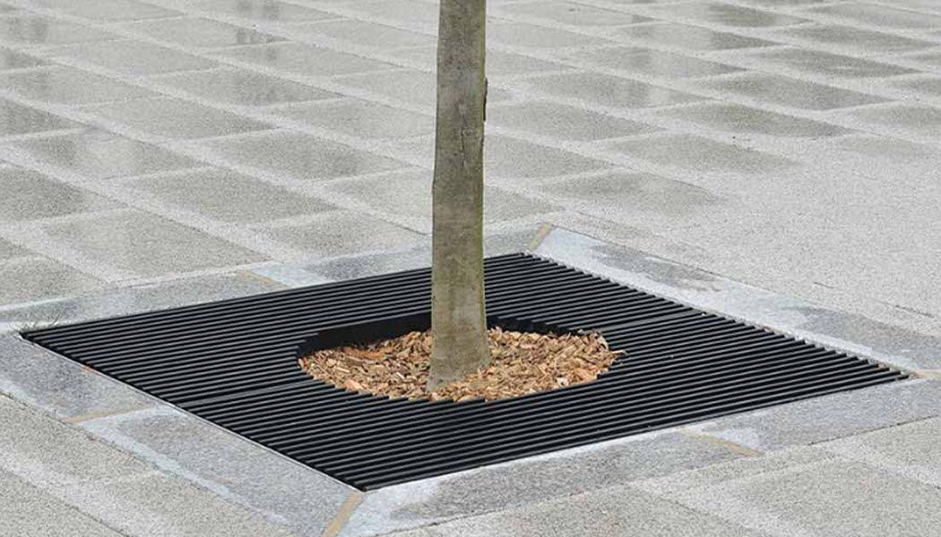 Area Reja para arbol Mobiliario urbano Jardín Diverso  |