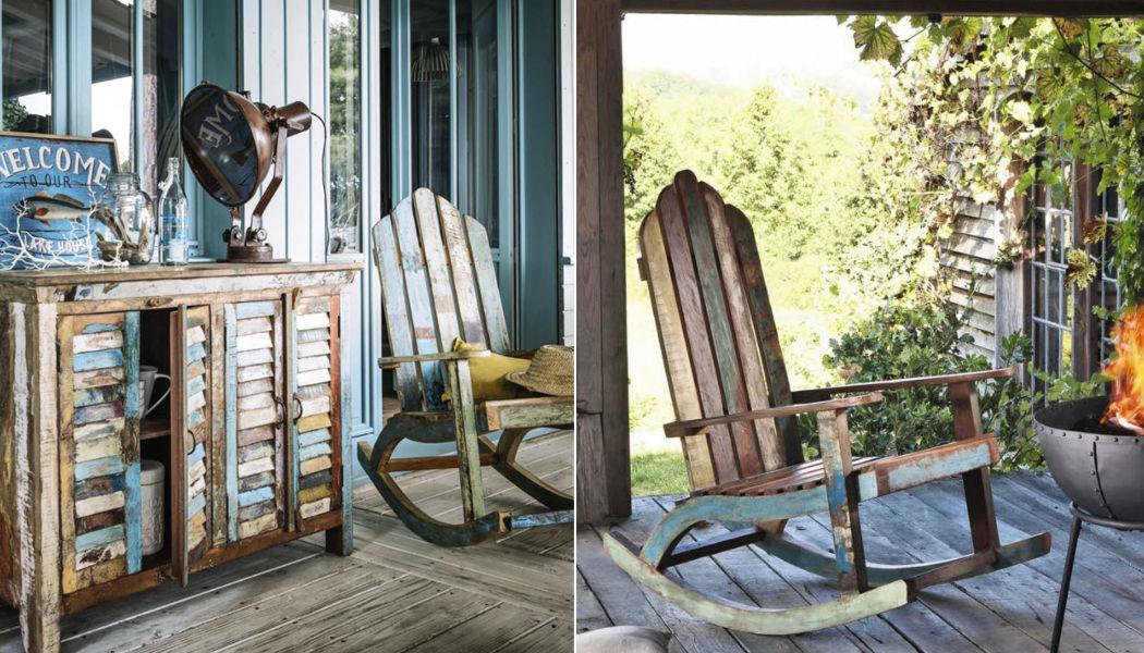 MAISONS DU MONDE Adirondack Sillones de exterior Jardín Mobiliario  |