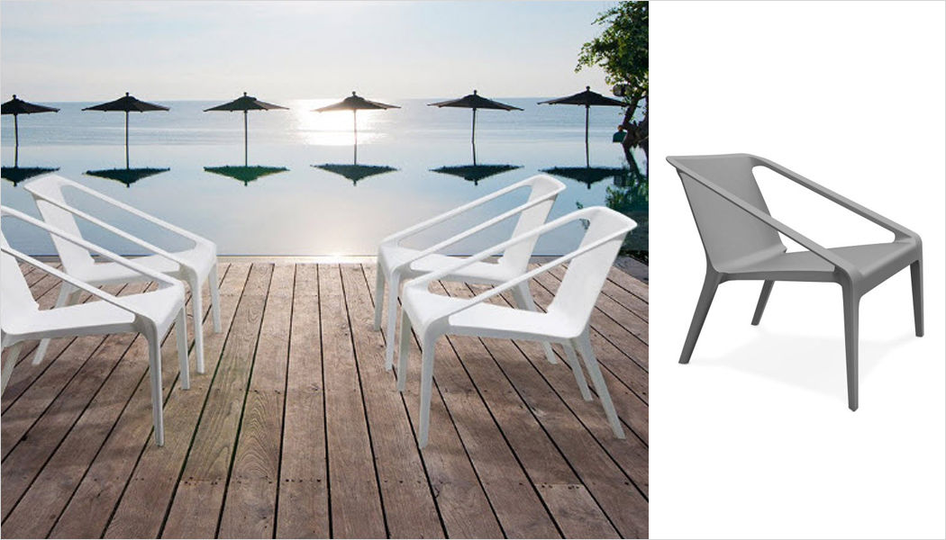 Alterego-Design Sillón de jardín Sillones de exterior Jardín Mobiliario  |