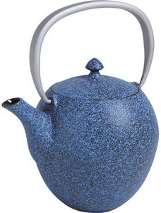 Aubry-Gaspard - théière 1l en fonte bleue - Tetera