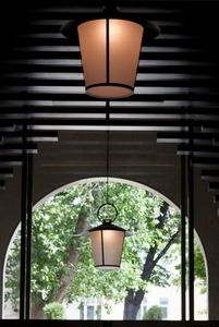 Lámpara colgante de exterior