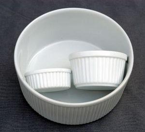 Porcelanne Plato para soufflé