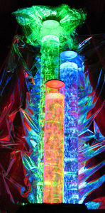 ALD CONCEPTS - colonnes bulles triples - Columna De Agua