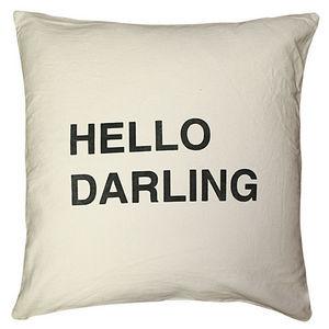 Sugarboo Designs - pillow collection - hello darling - Cojín Cuadrado