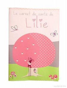 BABY SPHERE - protège carnet de santé elfina petite fille - Funda Para Cartilla De Sanidad