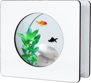 ZOLUX - aquarium nano fashion blanc 6 l 32.5x12.2x29.5cm - Acuario