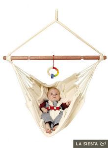 La Siesta - chaise hamac pour bébé yayita en coton bio - Hamaca Para Bebé