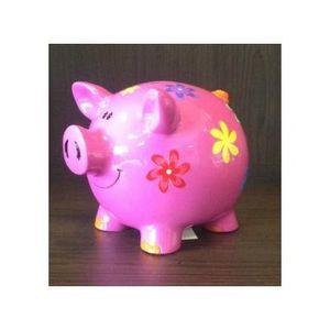 FAYE - tirelire cochon rose - Hucha