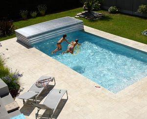 Abri piscine POOLABRI -  - Cubierta De Piscina Extra Plana