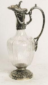 ANTIQUES LACARTA DECORACIÓN - modernist silver jar - Decantador