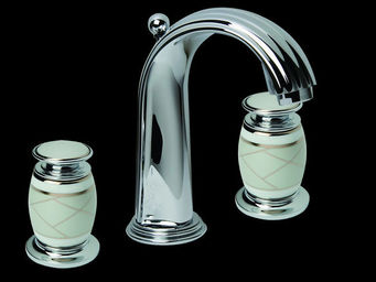 Serdaneli International - Ligne Haviland Clair De Lune - Mezclador Lavabo 3 Orificios