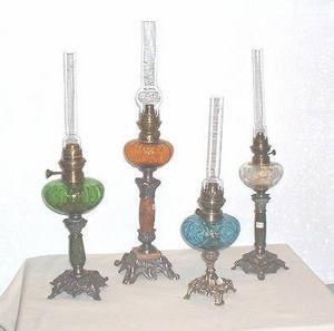 Décoantiq -  - Lámpara De Petróleo