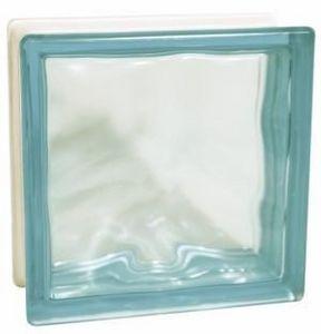 Glass Block Technology - blue flemish - Ladrillo De Vidrio