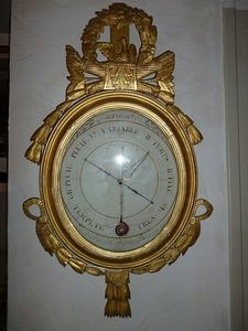 La Brocante de Steeve - barom�tre-thermom�tre louis xvi - Bar�metro