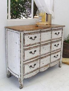 BLEU PROVENCE - vintage white - Mueble De Cajones