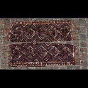 Expertissim - paire de bandes de kilim, caucase - Alfombra Antigua Kelim