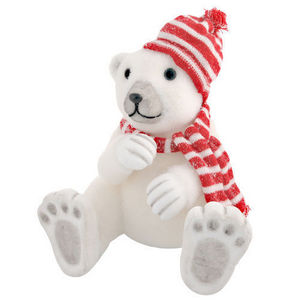 Maisons du monde - ours polaire nordique - Peluche