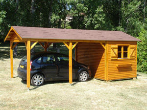 Cihb - abri de jardin et carport - Cobertizo De Coche Carport