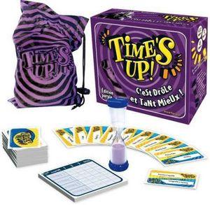 Mtc (manufacture Textile Creation) - time's up violet - Juego De Sociedad
