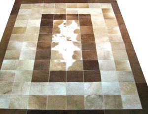 Stark Carpet - argentine leather - Alfombra Contemporánea