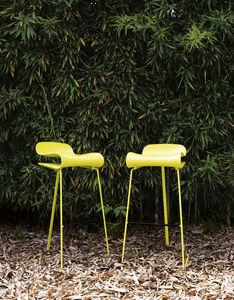 Kristalia - bcn slide stool - Banqueta De Bar Para Jardín