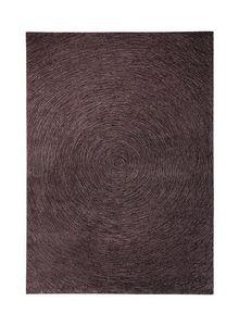 ESPRIT - tapis colour in motion rond taupe 200x200 en acryl - Alfombra Tradicional
