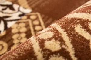 NAZAR - tapis hayat 80x300 beige - Alfombra Tradicional