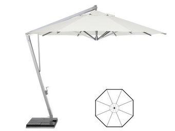 MANUTTI - round hanging umbrella - Sombrilla Con Soporte Lateral