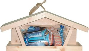 LES ANIMAUX DU JARDIN - kit mangeoire tramontane avec 1kg de graines - Comedero De Pájaros
